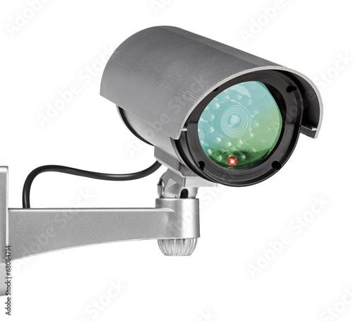 Leinwandbild Motiv security cam