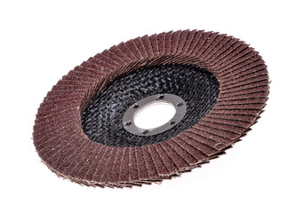 Abrasive disk for metal grinding