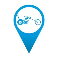 Icono localizacion simbolo chopper