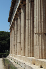 The temple of Hephaestus, Ancient Agora of Athens