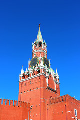 Spasskaya Tower in the Moscow Kremlin
