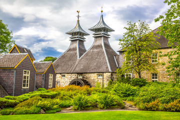 Traditional whisky distillery, Scotland