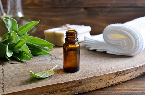Sage oil - 68086954