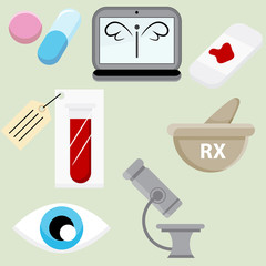 Pharmaceutical Icon Set
