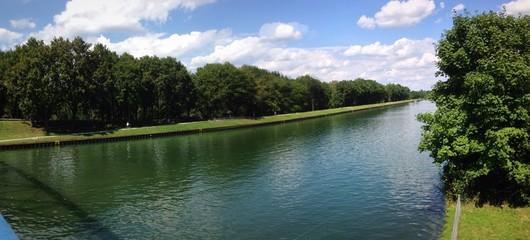 Panorama vom Rhein-Herne-Kanal