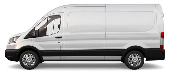 Compact white cargo