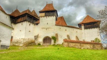 Viscri, church fortified, Transylvania Romania