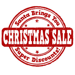 Christmas sale stamp