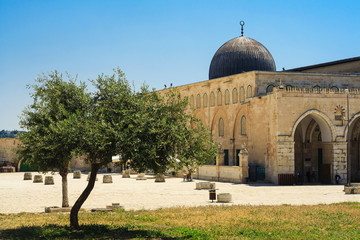 Al-Aqsa Mosque - third holiest place in Islam, Jerusalem