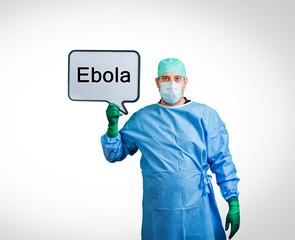 Ebola Krankheit Arzt Schutz