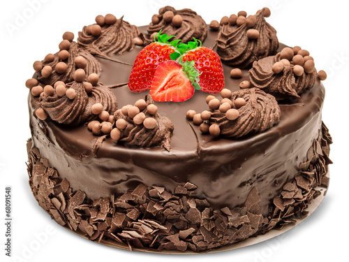Tuinposter Bakkerij Chocolate cake