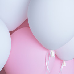 detail of balloons background
