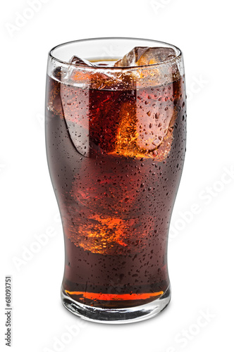 glass of cola - 68093751