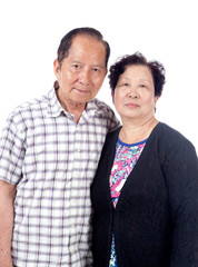 Elderly Asian Couple