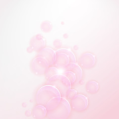 Soft colored abstract vector background for design
