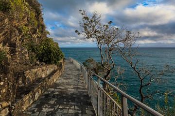 """Via dell amor"" of Cinque Terre"