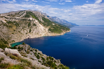 The Makarska Riviera is a part of the Croatian coast