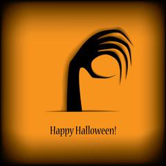 Halloween illustration vector suitable for party invitations
