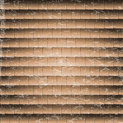 abstract brick wall background. illustration