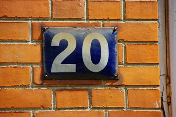 20, vingt, twenti, venti,