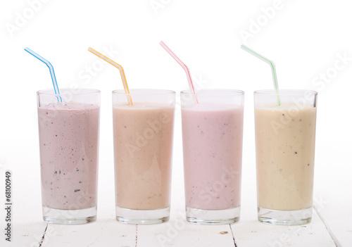 Fotobehang Cocktail smoothies