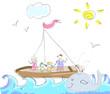 Sea Trip doodles