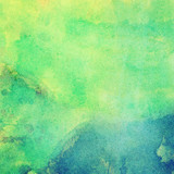Fototapety Abstract painted bright watercolor background