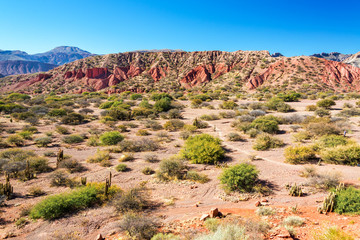 Dramatic Red Desert