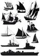 Schiffe und Segelschiffe - 68104539