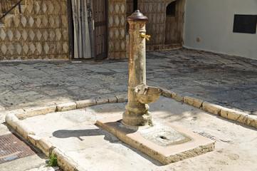 Fountain. Bitetto. Puglia. Italy.