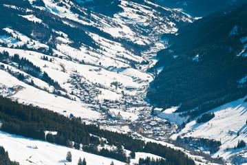 Glemmtal valley in Saalbach Hinterglemm region