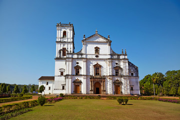 Se Cathedral. Old Goa, India.