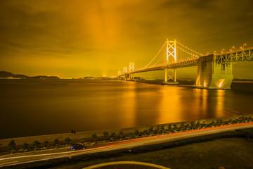 夜の瀬戸大橋2