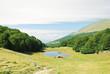 green meadow in Monte Baldo mountains