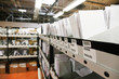 documents archives in warehouse