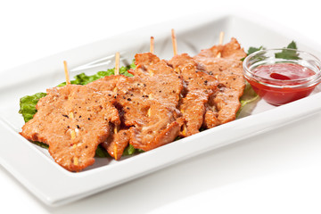 Skewered Pork