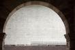 Leinwanddruck Bild - White Urban Wall