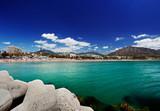 Beach in Puerto Banus, Marbella, Spain