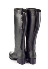 Black female boots