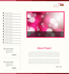 Nice Website Template, easy all editable