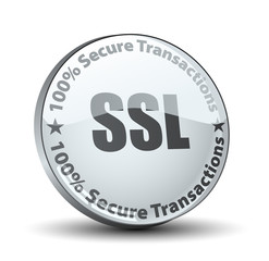 SSL 100% Secure Transactions