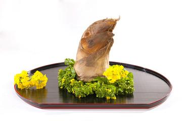 春の筍と菜の花・日本の四季