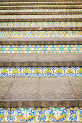 decoration of steps at Caltagirone