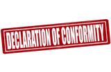 Declaration of conformity poster