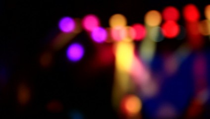 Concert abstract lights