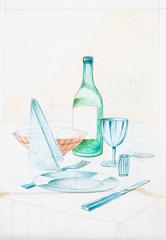dinning arrangement