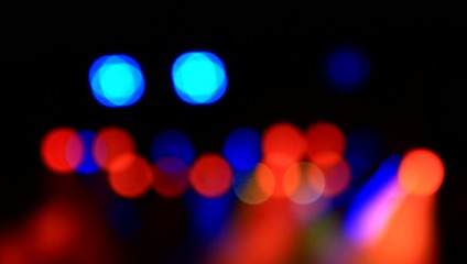 Abstract stage lights