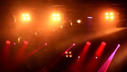Stage lights.