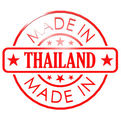 Made in Thailand red seal