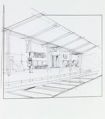 overground train station